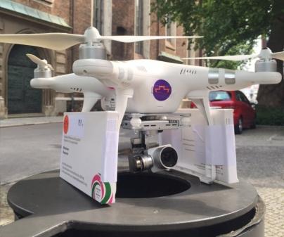 Um drone foi usado para jogar pílulas abortivas na fronteira entre Polônia e Alemanha.