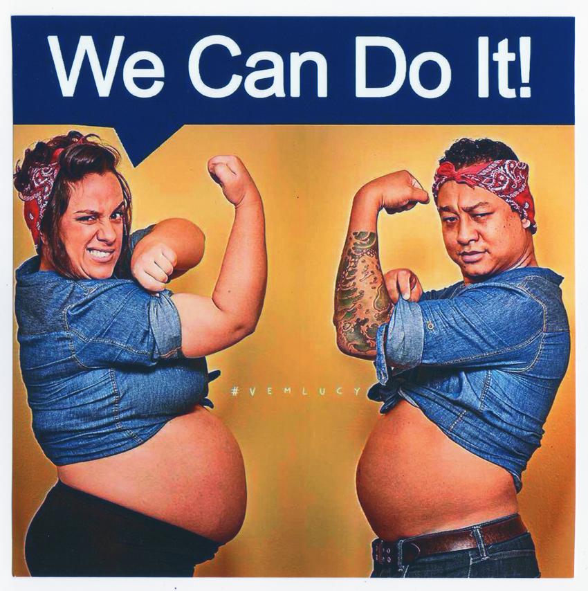 Este mês lançamos o desafio #homemnapia que, entre outras coisas, pretende fazer com que os homens participem mais dos cuidados dos filhos, como defendem a Samara Pires e o Leandro Asai aí na foto!