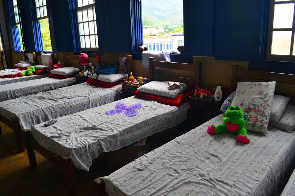 Alojamento dos atingidos no Hotel Providência (Elisa Estronioli/MAB)