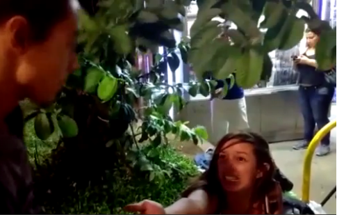 A estudante Isadora foi agredida por manifestantes ontem, na Paulista
