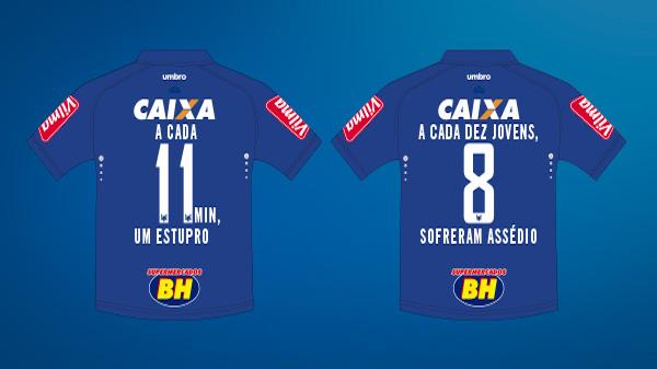 VamosMudarOsNúmeros  Cruzeiro e AzMina entram em campo pelas ... 1803d04c3b27a