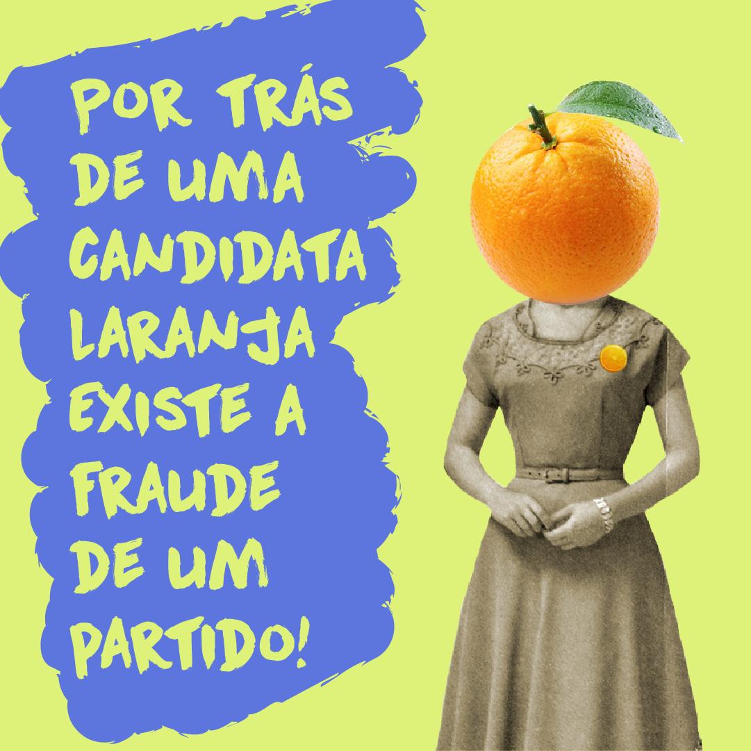 Resultado de imagem para candidaturas laranjas