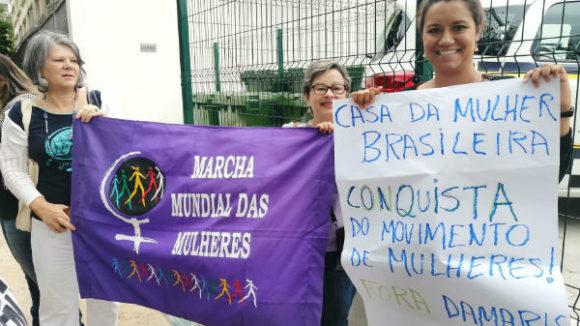 inauguração da casa da mulher brasileira