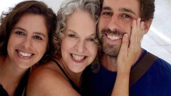 Helena Taliberti e os filhos que ela perdeu em Brumadinho