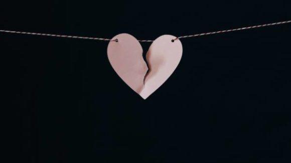 Divórcio: coração partido
