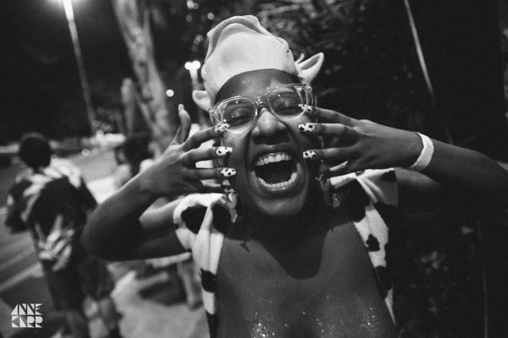 Dandara Pagu, criadora do bloco feminista Vacas Profanas (Foto: Anne Karr)