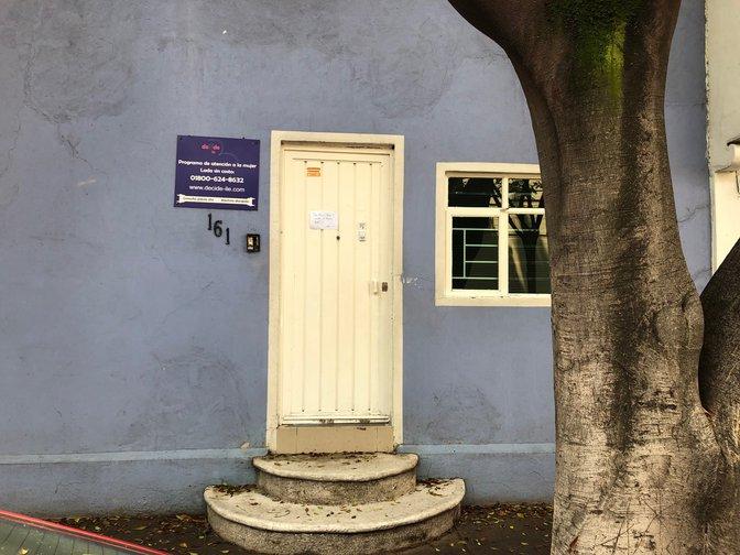 """Um """"centro de gravidez em crise"""" na Cidade do México, onde o aborto é legal desde 2007"""